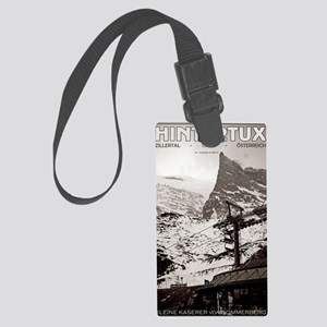 Hintertux - Kleine Kaserer Large Luggage Tag
