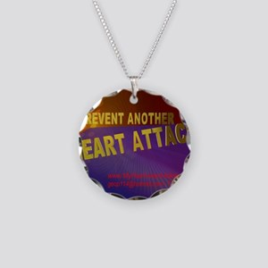 $_Prevent_HeartAttack6 Necklace Circle Charm