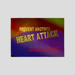 $_Prevent_HeartAttack6 5'x7'Area Rug