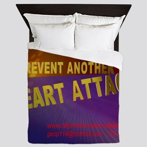 $_Prevent_HeartAttack6 Queen Duvet