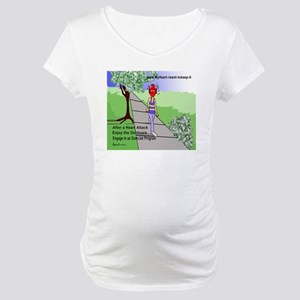$_Walking Maternity T-Shirt