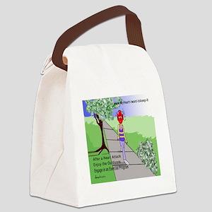 $_Walking Canvas Lunch Bag