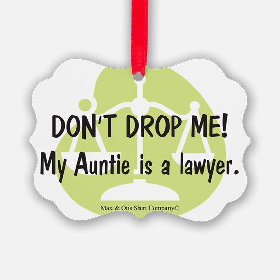 lawyer-auntie Ornament
