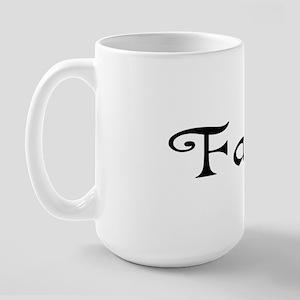 faith bumper Large Mug