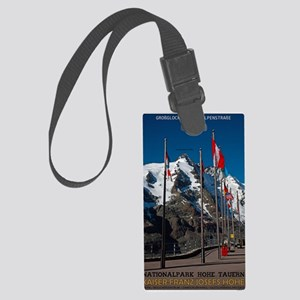 Hohe Tauern - Kaiser Franz Josef Large Luggage Tag