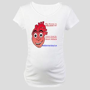 $_Hearty3 Maternity T-Shirt