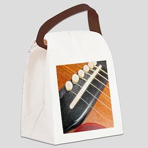 Guitar_11x14_p4028 Canvas Lunch Bag