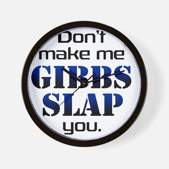gobbs slap copy Wall Clock
