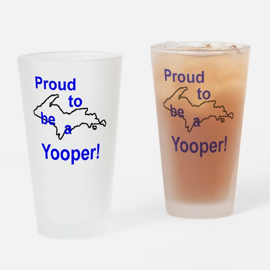 Proud Drinking Glass