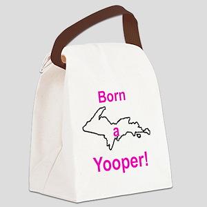 BornGirl Canvas Lunch Bag