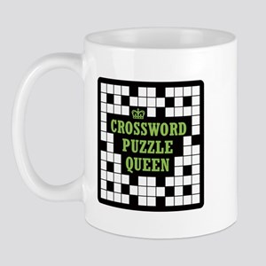 Crossword Queen Mug