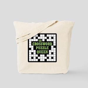 Crossword Queen Tote Bag