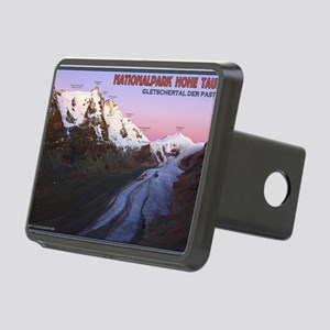 Pasterze Glacier Valley at Rectangular Hitch Cover