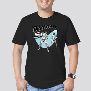 assman2-LTT Men's Fitted T-Shirt (dark)