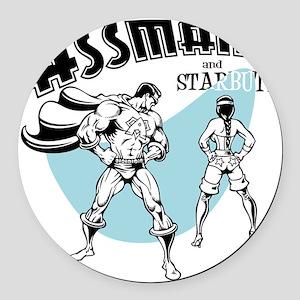 assman2-LTT Round Car Magnet