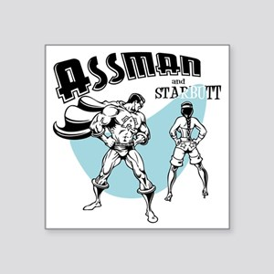 "assman2-LTT Square Sticker 3"" x 3"""
