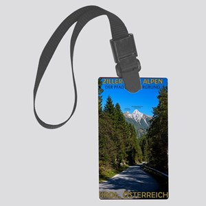 Road to Zillergrund Large Luggage Tag