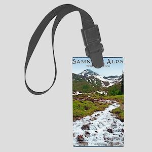 Samnaun Alps - Summer Large Luggage Tag