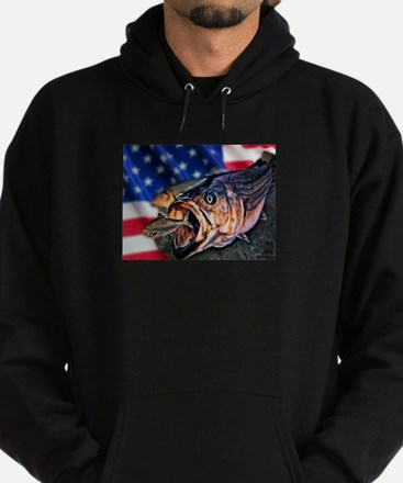 American Flag striper Sweatshirt