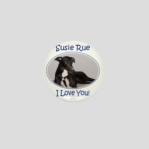 Susie Rue 2 tee Mini Button