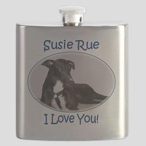 Susie Rue 2 tee Flask
