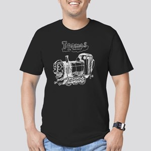Toomas_the_tank_engine Men's Fitted T-Shirt (dark)