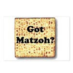 Got Matzoh? Postcards (Package of 8)