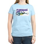 Super Rabbi (Jewish/Israeli)Women's Pink T-Shirt