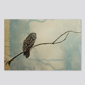 Great Gray Owl Postcards (Package of 8)