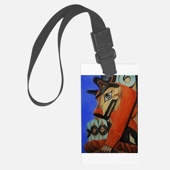 Wolf Totem Luggage Tag