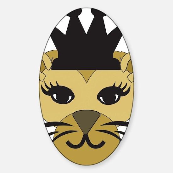 Lioness-5 Sticker (Oval)