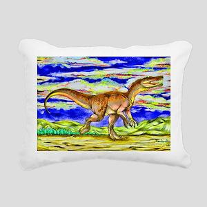 4.5x6.5_dinosaurinthezon Rectangular Canvas Pillow