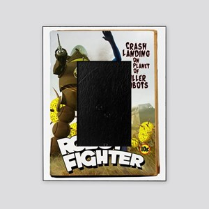 Robot Fighter Fake Pulp Cover 2 Picture Frame