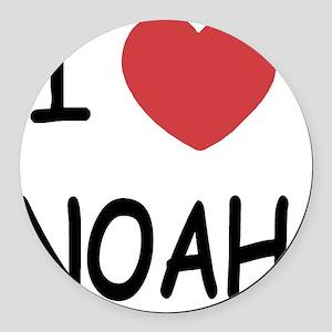 NOAH Round Car Magnet