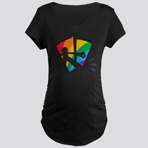 Rainbow Closet Maternity Dark T-Shirt