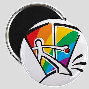 Rainbow Closet Magnet