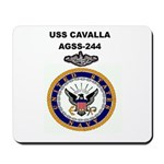 USS CAVALLA Mousepad