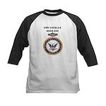 USS CAVALLA Kids Baseball Jersey