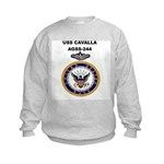USS CAVALLA Kids Sweatshirt