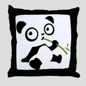 panda1 Throw Pillow