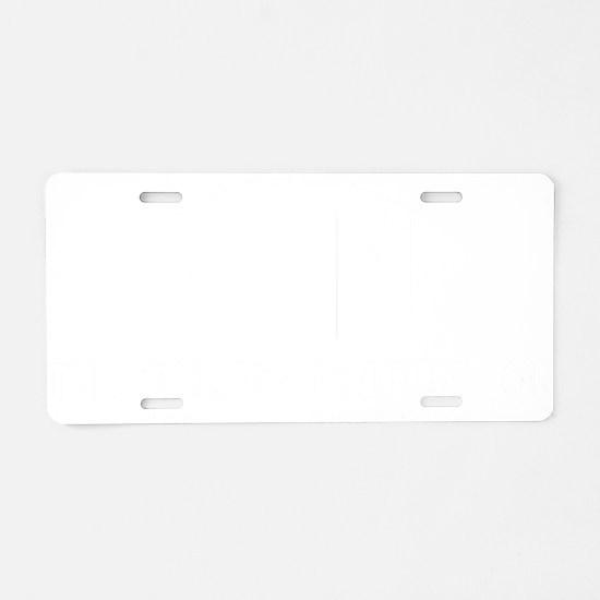 sarcasmFoundation2 Aluminum License Plate