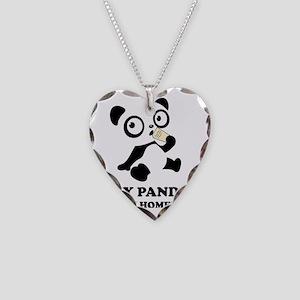 pandaHomeworkB Necklace Heart Charm