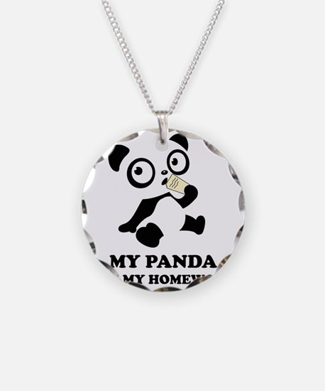 pandaHomeworkB Necklace