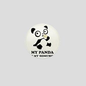 pandaHomeworkB Mini Button