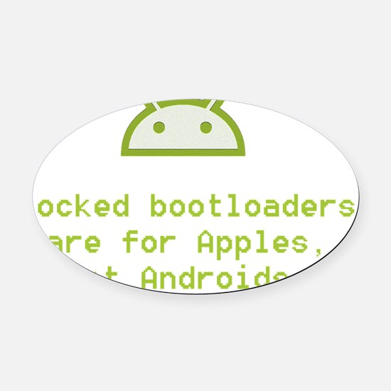 bootloaders Oval Car Magnet
