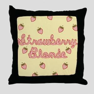 strawberry-blonde_13-5x18 Throw Pillow