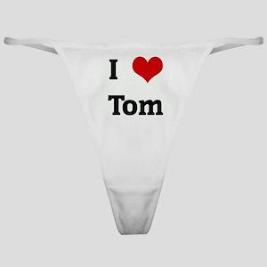 I Love Tom Classic Thong