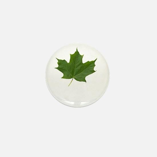 TrueNorth-greenLeaf-whiteLetters copy Mini Button