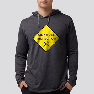 Sinkhole Inspector Long Sleeve T-Shirt