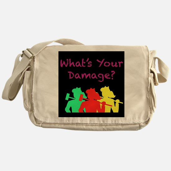 Cute Heather Messenger Bag